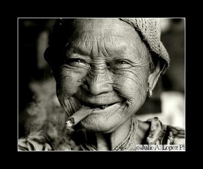 Smiling Elder