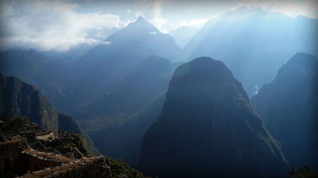 Apu in Machu Picchu