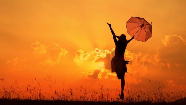 orangegirlumbrella